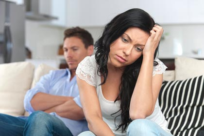 A couple arguing. Can relationship counselling help?
